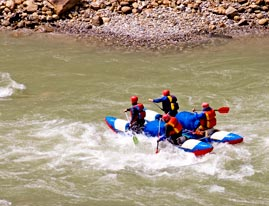 Ganges River Rafting and Elephant Safari