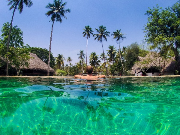 Marari beach Swimming Pool-1