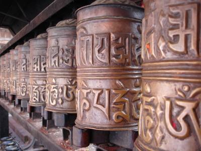 Nepal prayer wheel-1