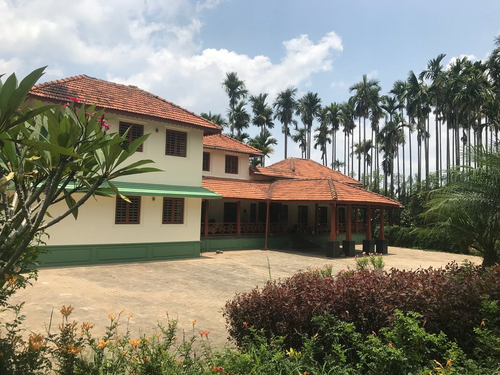 Siddhanta Manor Exterior