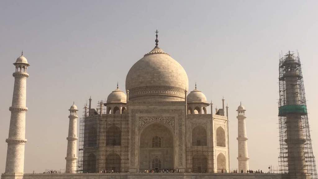 Updated Taj Mahal Restoration Schedule
